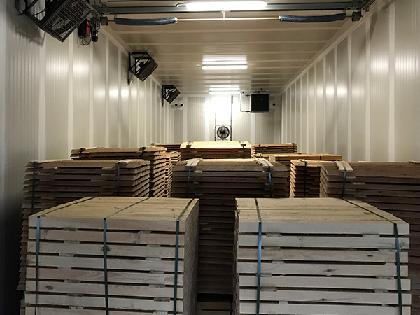 Heat Treatment hout ISPM 15