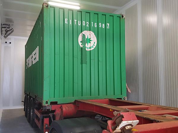 laag zuurstof bestrijdingen containers
