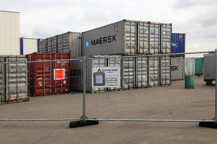 containers begassen