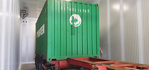 Containers laagzuurstof bestrijden in behandelkamers